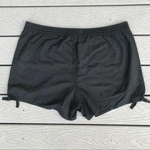 Madewell Shorts - Madewell Side Tie Shorts XXL Black High Waist